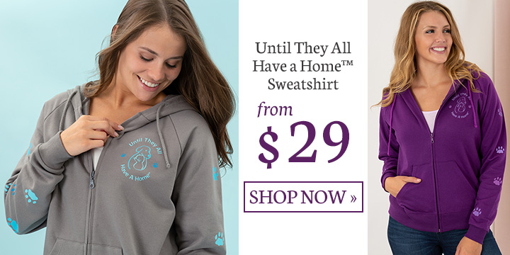 Until They All Have a Home Hooded Zip Sweatshirt
