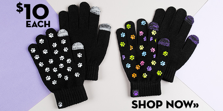 Paws Galore Touchscreen Gloves