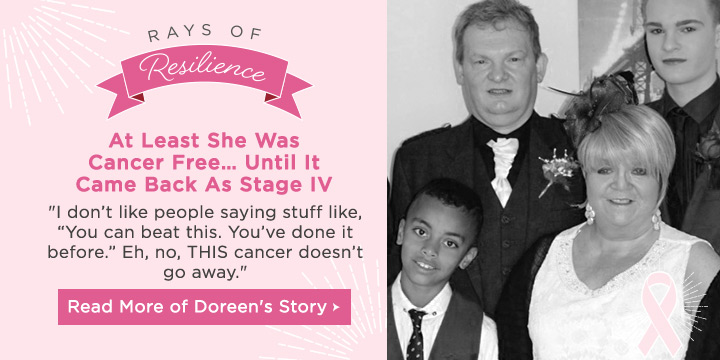 Rays of Resilience - Read Doreen's Story