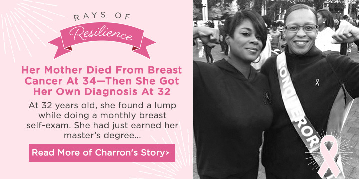 Rays of Resilience - Read Charron's Story