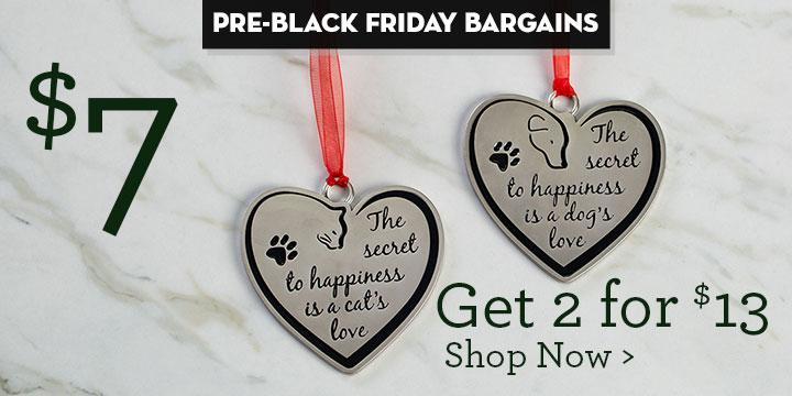 A Pet's Love Ornament