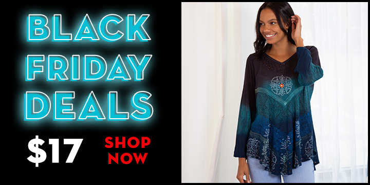 Earth & Sky Long Sleeve Tunic