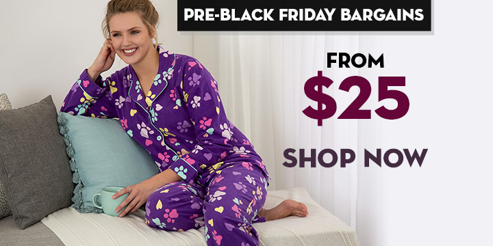 Loving Paws Flannel Pajama Set