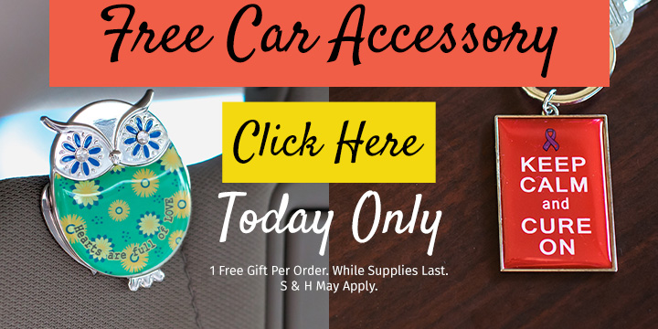 Choose your FREE gift for your car!