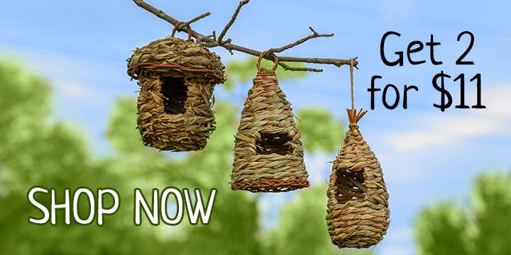 Roosting Pocket Birdhouses Set