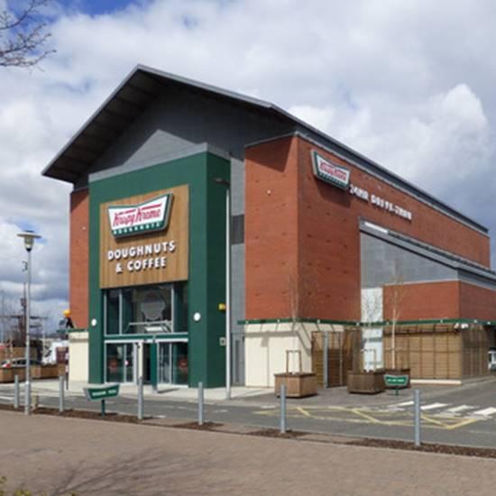 Krispy Kreme Doughnut Store