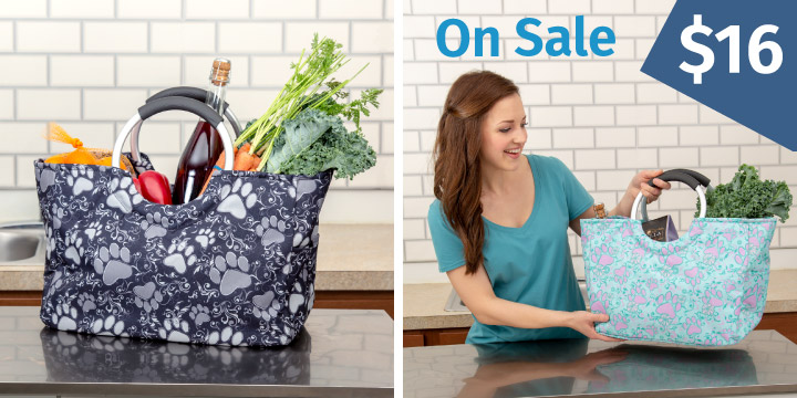 Paws Aplenty Insulated Shopping Bag