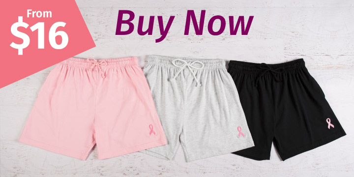 Pink Ribbon Women's Casual Shorts