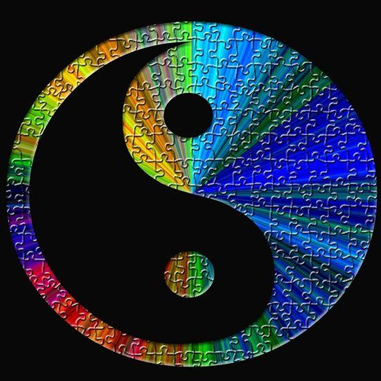 Puzzle yin-yang