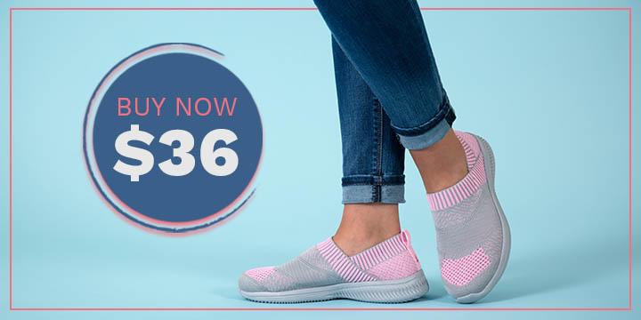 Pink Ribbon Ultralite™ Flex Shoes