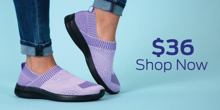 Purple Paw Ultralite™ Flex Shoes