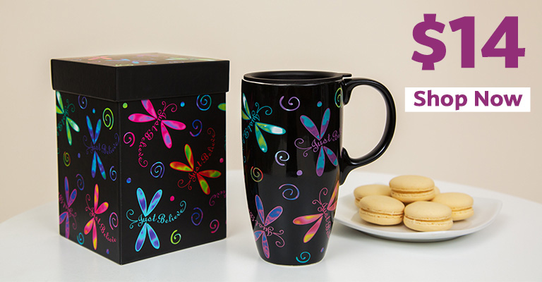 Flights of Fancy Gift Boxed Travel Mug