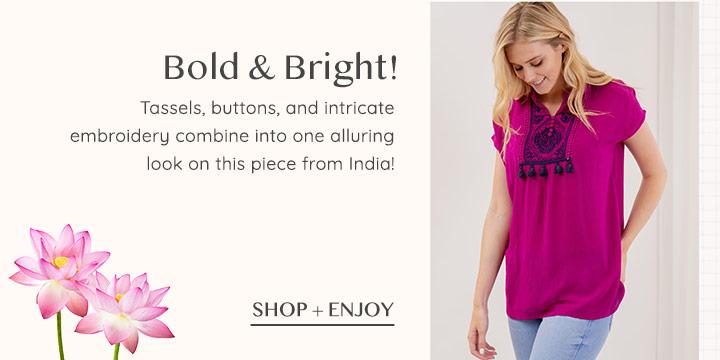 India Allure Top
