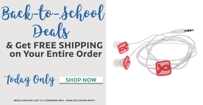 $5 Back to School Deals & Free Shipping!