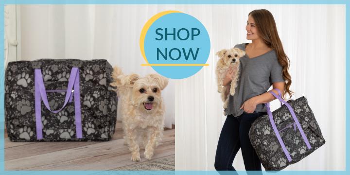 Paws Aplenty Packable Duffel Bag