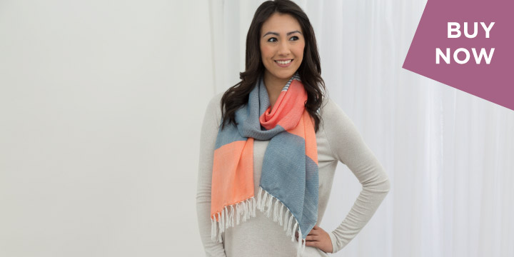 Enchanted Sky Guatemalan Scarf