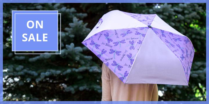 Just Believe Dragonfly Umbrella