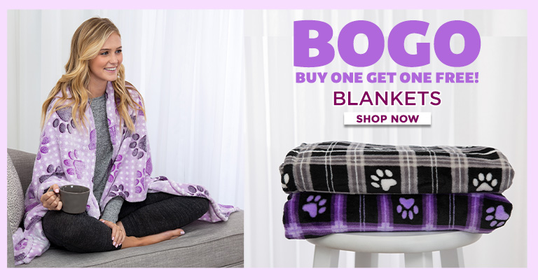 Super Cozy™ Blankets - Buy 1, Get 1 FREE!