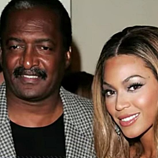 Famous singer and her father