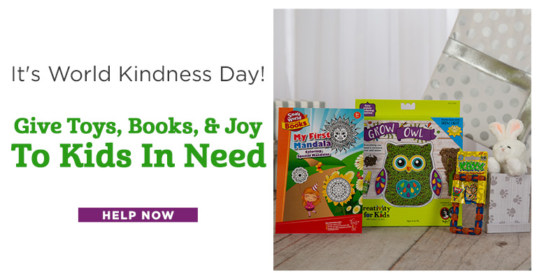 Give Toys, Books, & Joy To Kids In Need