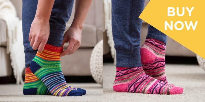 Northern Lights Slipper Socks