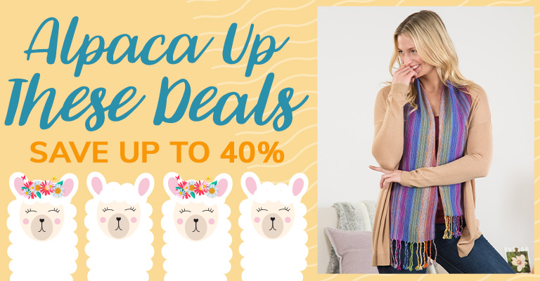 Alpaca Up These Deals