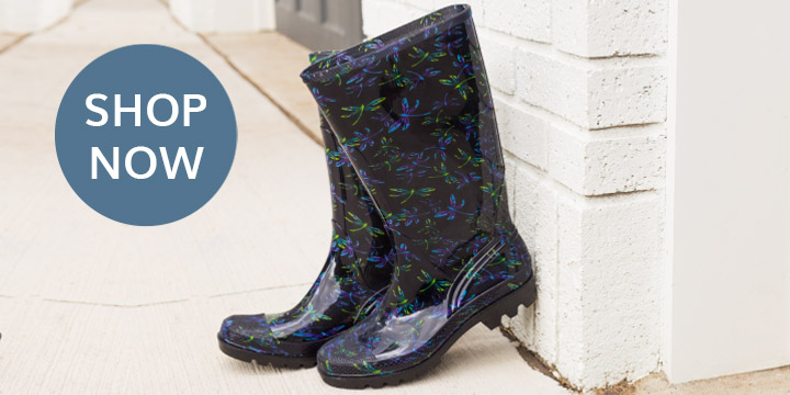 Ultralite™ Flight of the Dragonfly Rain Boots