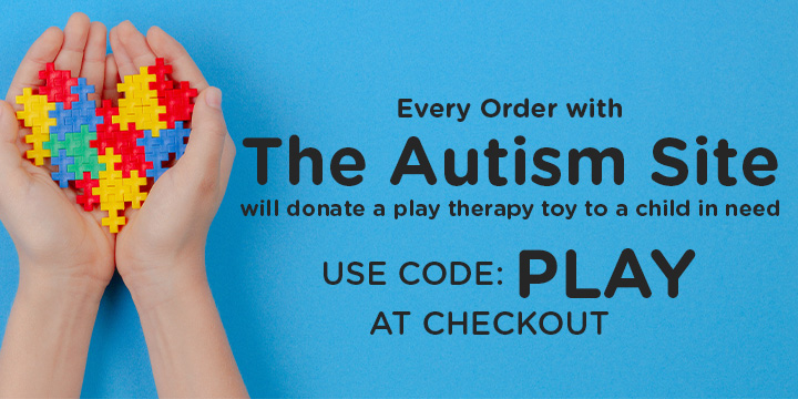 Every Order will will donate a play therapy toy to a child in need. Use Code: PLAY