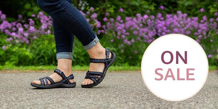 Ultralite™ Fluttering Friends Strappy Sport Sandals
