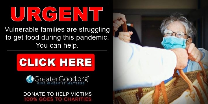 Vulnerable families are struggling to get food during this pandemic - Help Now!
