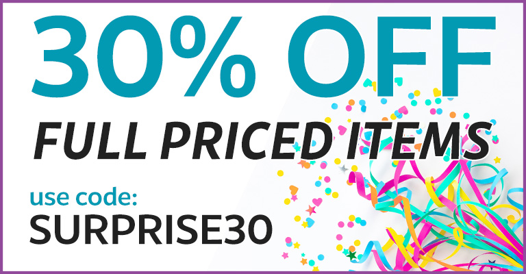 30% Off Full Priced Items! Use Code: SURPRISE30