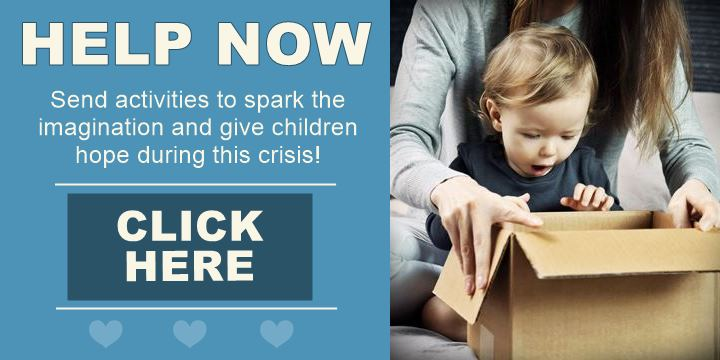 Send activities for children stuck at home during this crisis - Help Now!