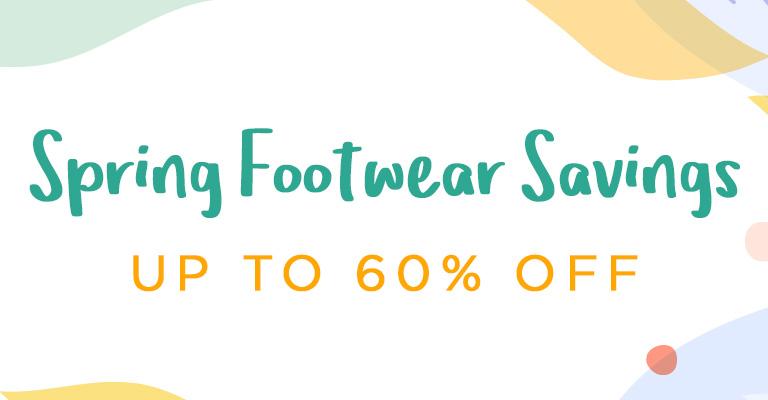 Spring Savings in every footstep!