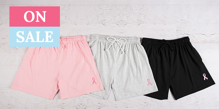 Pink Ribbon Women's Casual Shorts