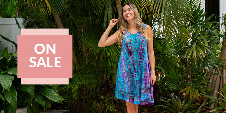 Tie-Dye Spirit Sleeveless Tunic