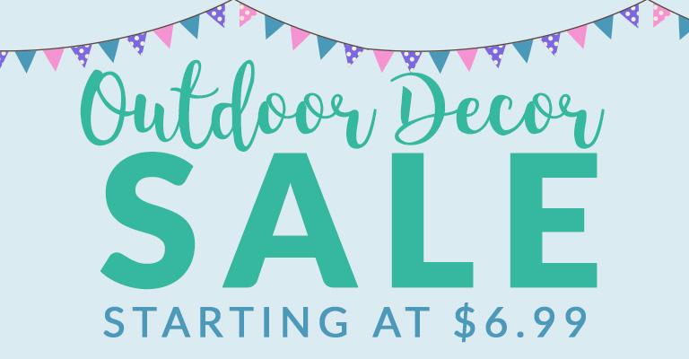 Delightful Outdoor Decor Deals