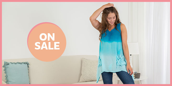 Surf to Sand Embroidered Tunic