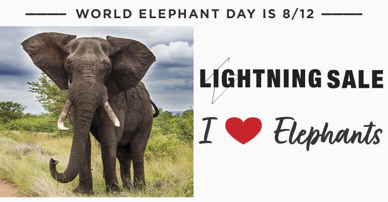 Elephant Love Lightning Sale!