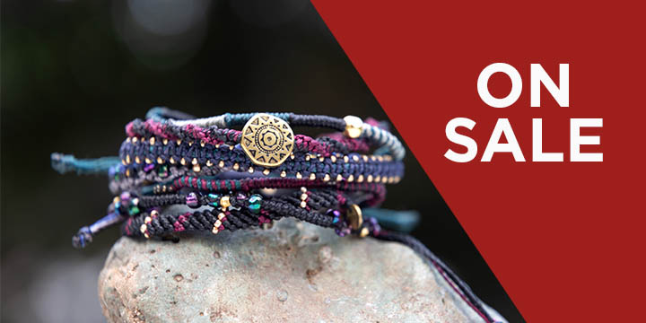 Guatemalan Seven-Strand Earth Bracelet