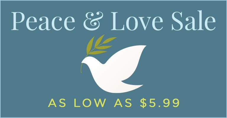 Peace, Love & Savings!