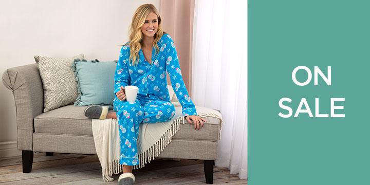 Snowman Pet Flannel Pajama Set