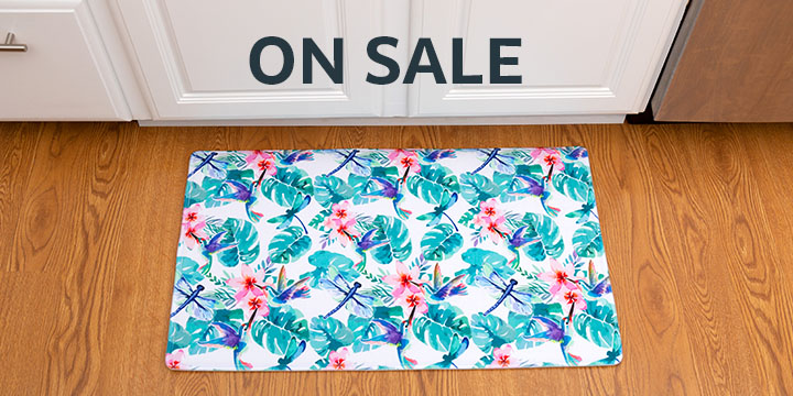 Tropic Beauty Memory Foam Mat