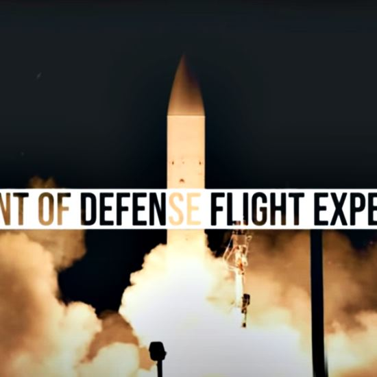 Launch of DOD Flight Experiment