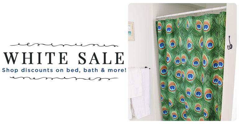 Bargains for bed, bath & more!
