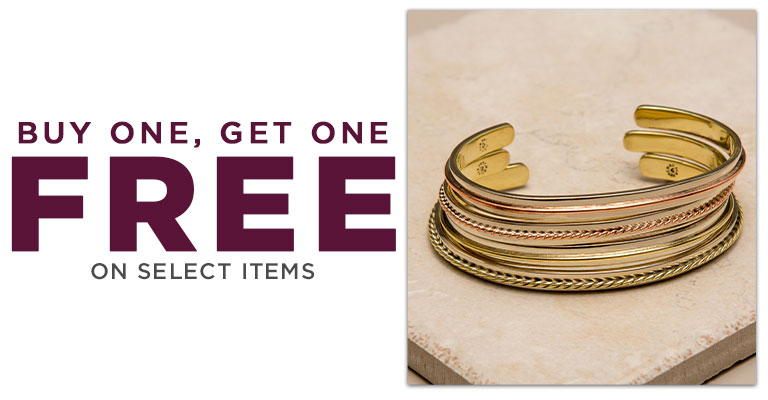 Select Bracelets - Buy one, Get one FREE!