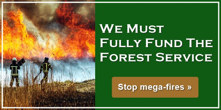 We Must Fully Fund The Forest Service - Stop mega-fires
