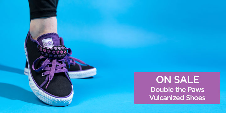 Double the Paws Vulcanized Shoes