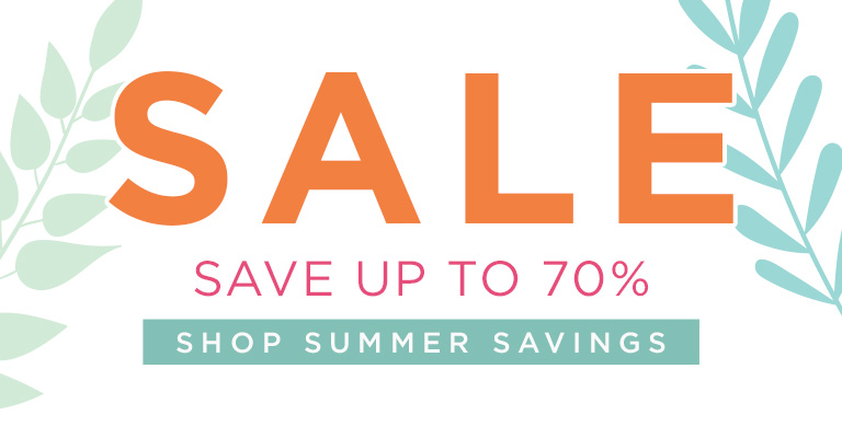 Great ready for summer savings!
