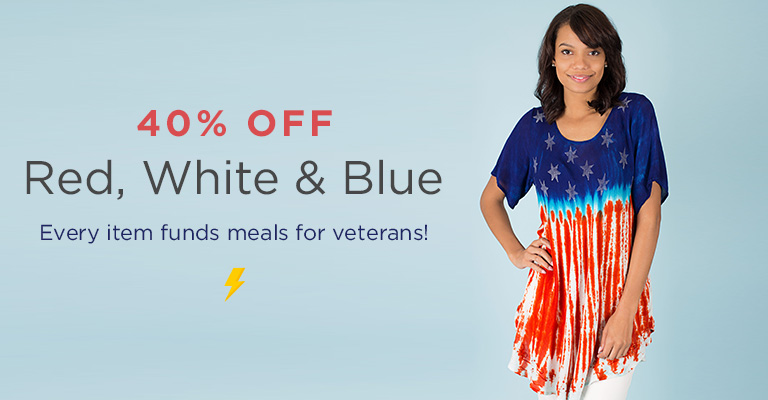 Lighting Sale! Honoring the Red, White & Blue!