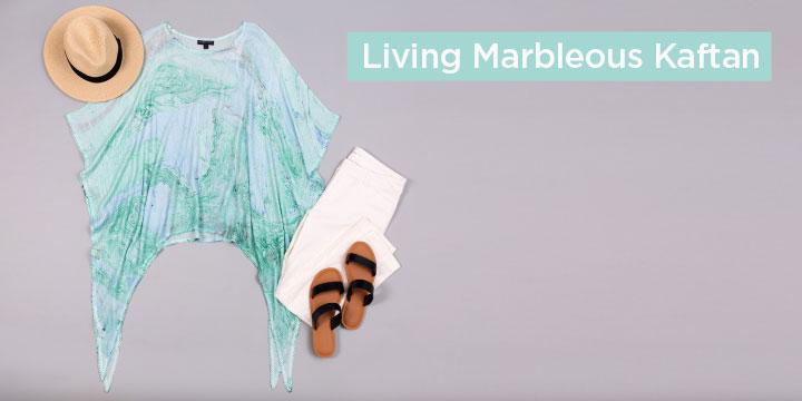 Living Marbleous Kaftan